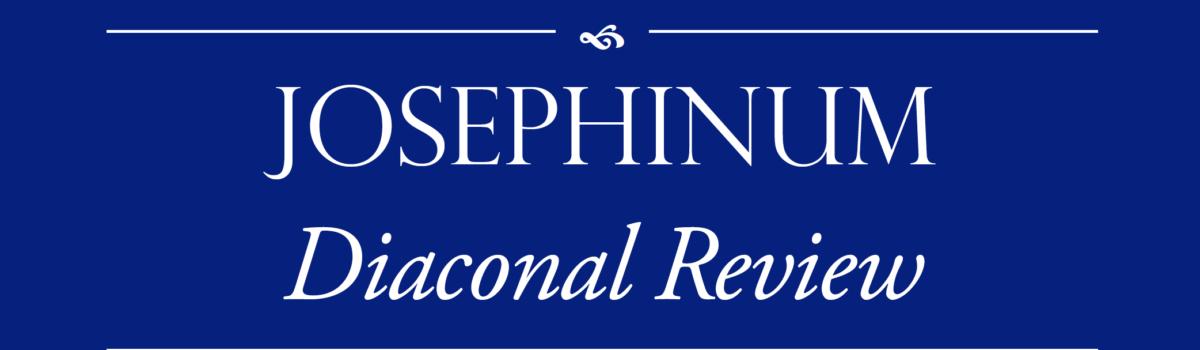 The Josephinum Diaconal Review